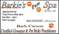 Dog Grooming - located in Bentley - Home Based Business