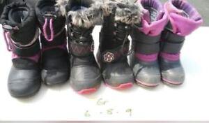Bottes d'hiver Gr 6, 8 et 9