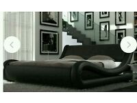 Double bed king size nice style in good condition. No matrice