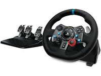 Logitech G29 Steering Wheel with Shifter PS4