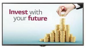 """LG 49SM5B-B _478 49"""" Digital signage webOS 1080p 450 cd/m² HDMI/DP ***READ***"""