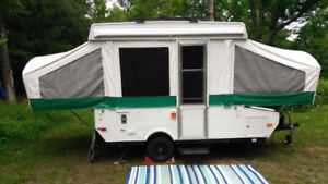 For Rent  Pop up  Tent Trailer