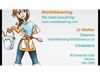 Maid4kleaning is an new cleaning company that cleans everything. 12 hour