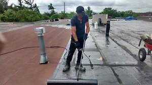 Flat roofs repairs 24/7 services Cambridge Kitchener Area image 2
