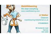 Cleaning company with add on service