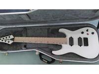 Jackson Pro DKA7 7 String Electric Guitar in Satin White FOR SALE