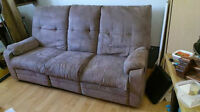 Fauteuil style elran 3 places