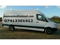 Man & Van 07413301412