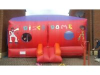 Bouncy castle disco dome