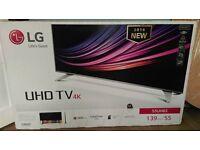 lg 55 inch uhd 4k smart tv for sale