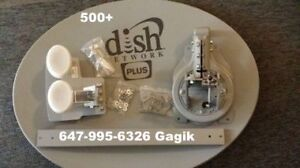 Directv or Dish Network Bell TV or Shaw Direct HD OTA Antenna
