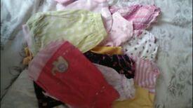 Girls summer clothes bundle 3-6 months