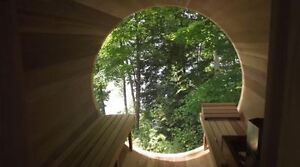 Amazing Barrel Sauna with a View!