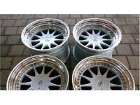 "Rare Rare Hartge Alloy Wheels 18"" deep dish 3 piece split rim alloys (mint condition) to fit BMW"