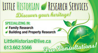 Family & Property Research Services