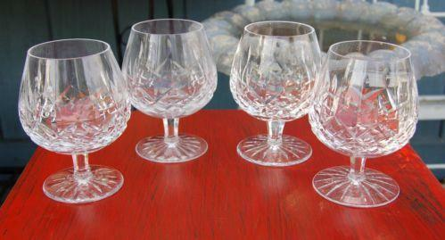 Waterford crystal lismore brandy snifter ebay - Waterford cognac glasses ...