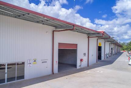 INDUSTRIAL WAREHOUSE / SHED FOR LEASE 142m2 with OFFICE