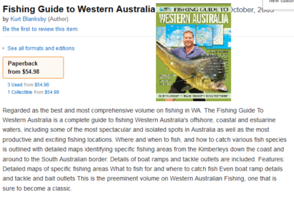 Fishing, 4WD, Space, Science, WA Travel Guides, Educational Books