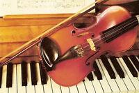 Cours de piano, violon et chant (Longueuil)