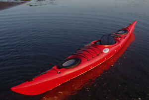 """16.5"""" Riot Brittany Touring Kayak - used"""