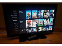 "Samsung 40"" full HD FREEVIEW TV - excellent condition Collection derby"