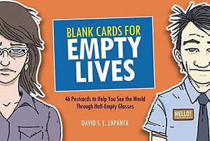 David Zapanta-Blank Cards For Empty Lives  BOOK NEW
