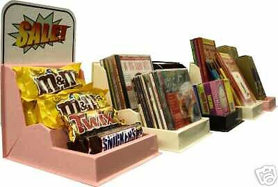 12 Storecounterplastic Displaycandybookscddvdvideo Games Concession Sale