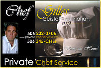 Reserve your date with ChefGilles.com