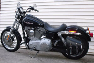 SOLO MOUNT Swingarm Bag Mounting System- Harley Dyna,Wide Glide,Low Rider,FXDF