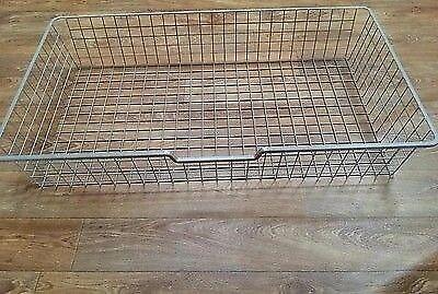 Ikea Komplement Large Wire Basket Drawer Under Bed Storage