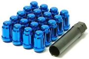 Blue Lug Nuts