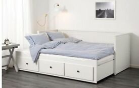 IKEA HEMNES DAY BED, EXCELLENT CONDITION INCLUDES MATTRESSES