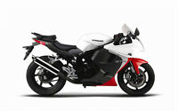 BLACK FRIDAY SALE!!!NEW 2013 Hyosung GT250R White * $3995 +hst.