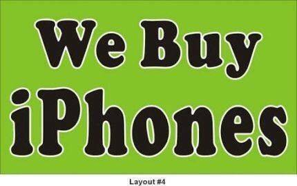 CASH for iPhone X, 7, 6S, Galaxy S8 (Broken or Faulty) WANTED