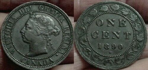 NICE XF 1890-H CANADA LARGE CENT
