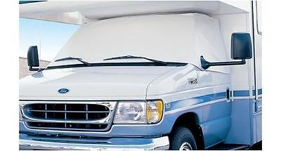 ADCO Windshield Cover Class C Ford RV Motorhomes 1992 To 1995 White Vinyl. 2405