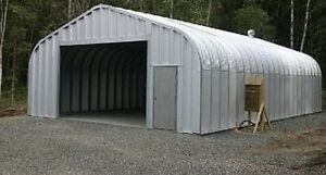 Extra work space/garage 25x38' Steel Building Kit w base plates