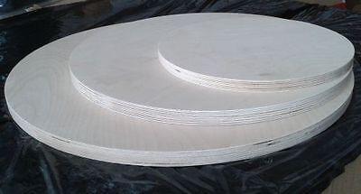 18 mm Multiplexplatte Holzplatte Rund - Sperrholz Platte Birke