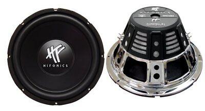 """2) HIFONICS HFX12D4 12"""" 1600W Car Audio DVC Subwoofers Power"""