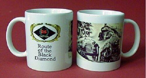 LEHIGH VALLEY RAILROAD COFFEE MUG CUP ////  TRAIN