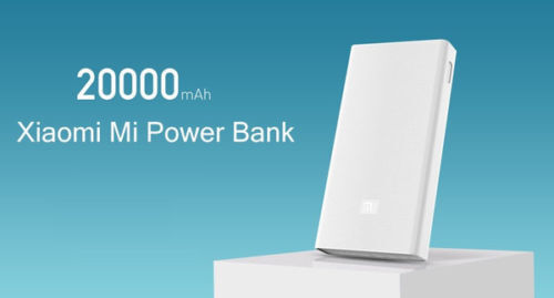 Buy Original Xiaomi Mi 20000MAH World Best Portable Battery Support Power Bank at Rs. 1,799