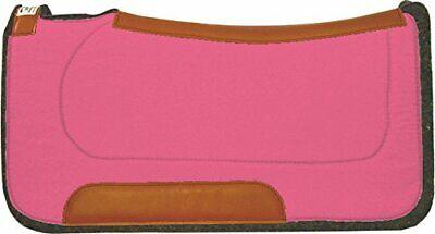 Diamond Wool Felt Western Contoured Saddle Pad Ranch Pad USA Made  Wool Felt Saddle Pad