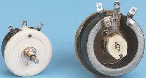 Vishay RT055AS4701K RT Series 55W Wirewound Rheostat, 4.7kΩ, ±10%