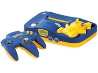 Nintendo 64 Limited Edition (Pikachu)