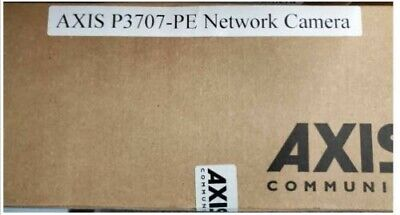 Axis P3707-pe 0815-001 Poe 1080p 8 Mp 360 Multi-sensor Network Camera New Nib