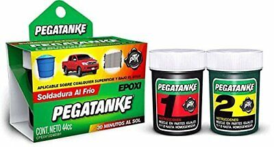 Pegatanke Epoxy Glue - Apply On Any Surface And Under Water - 44 Cc