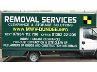 House Removals and Man with Van services Dundee