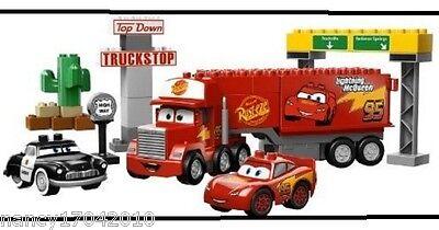 Lego Duplo 5816 Mack auf großer Fahrt ( Cars ) Mack's Road Trip LKW Auflieger
