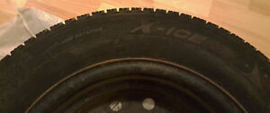 Michelin 215/60R16/XL 99H Extra Load Snow Tires with Rims St. John's Newfoundland image 1