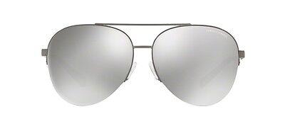 NWT Armani Exchange Sunglasses AX 2020S 60886G Matte Gunmetal / Mirror Grey 60mm ()